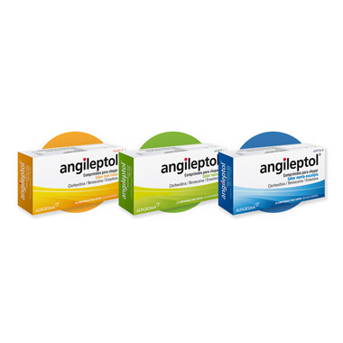 Imagen del producto ANGILEPTOL (30 COMPRIMIDOS PARA CHUPAR MENTA-EUCALIPTO)