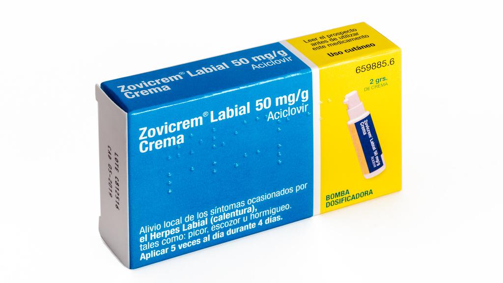 Imagen del producto ZOVICREM LABIAL BOMBA DOSIFICADORA 2 GRAMOS