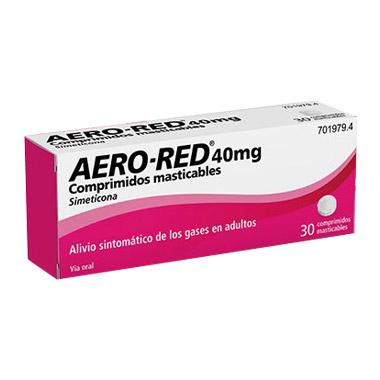 Imagen del producto AERO RED 40 MG 30 COMPRIMIDOS MASTICABLES