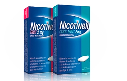 Imagen del producto NICOTINELL FRUIT 2 MG 24 CHICLES MEDICAMENTOSOS