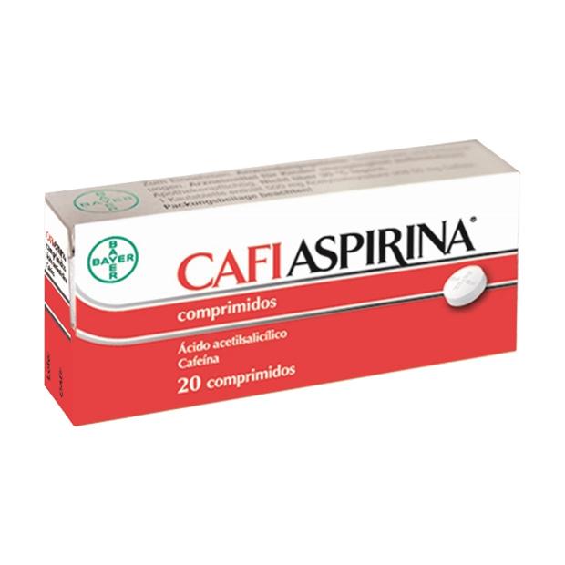 Imagen del producto CAFIASPIRINA 500/50 MG 20 COMPRIMIDOS