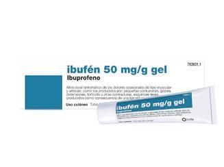 Imagen del producto IBUFEN TOPICO 5% GEL 50 G