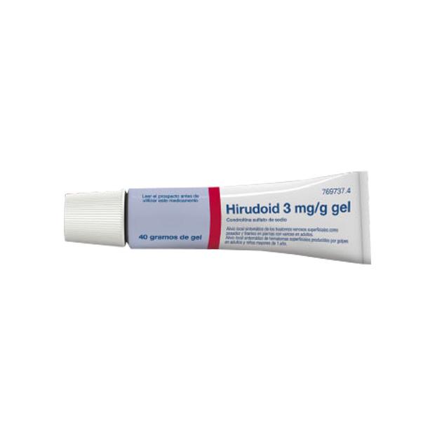 Imagen del producto HIRUDOID 3 mg/g GEL , 1 tubo de 40 g
