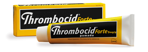 Imagen del producto THROMBOCID FORTE 5 MG/G POMADA 60 G