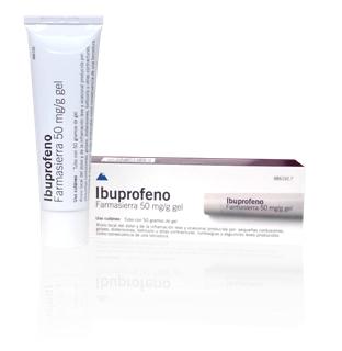 Imagen del producto IBUPROFENO FARMASIERRA 50 mg/g – 50 mg