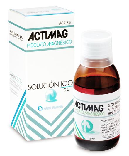 Imagen del producto ACTIMAG 2 G/5ML SOLUCIÓN 100 ML