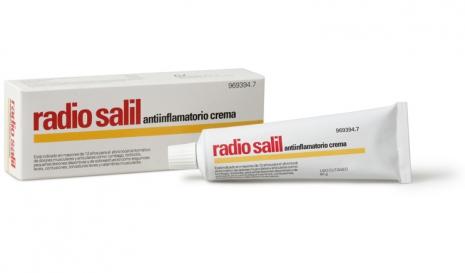 Imagen del producto RADIO SALIL ANTIINFLAMATORIO CREMA 60 G