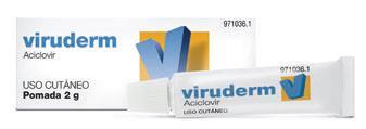 Imagen del producto VIRUDERM 5% POMADA 2 G